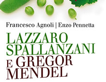 Cover book | Lazzaro Spallanzano e Gregor Mendel