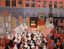 Book cover | San Bernardino da Siena | Antologia delle prediche volgari