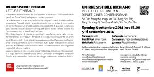 cartolina artisti open zona toselli - affiancate19