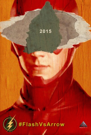 Flash Vs Arrow - The Flash Poster