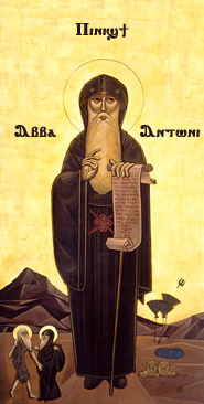 icon of Abba Anthony