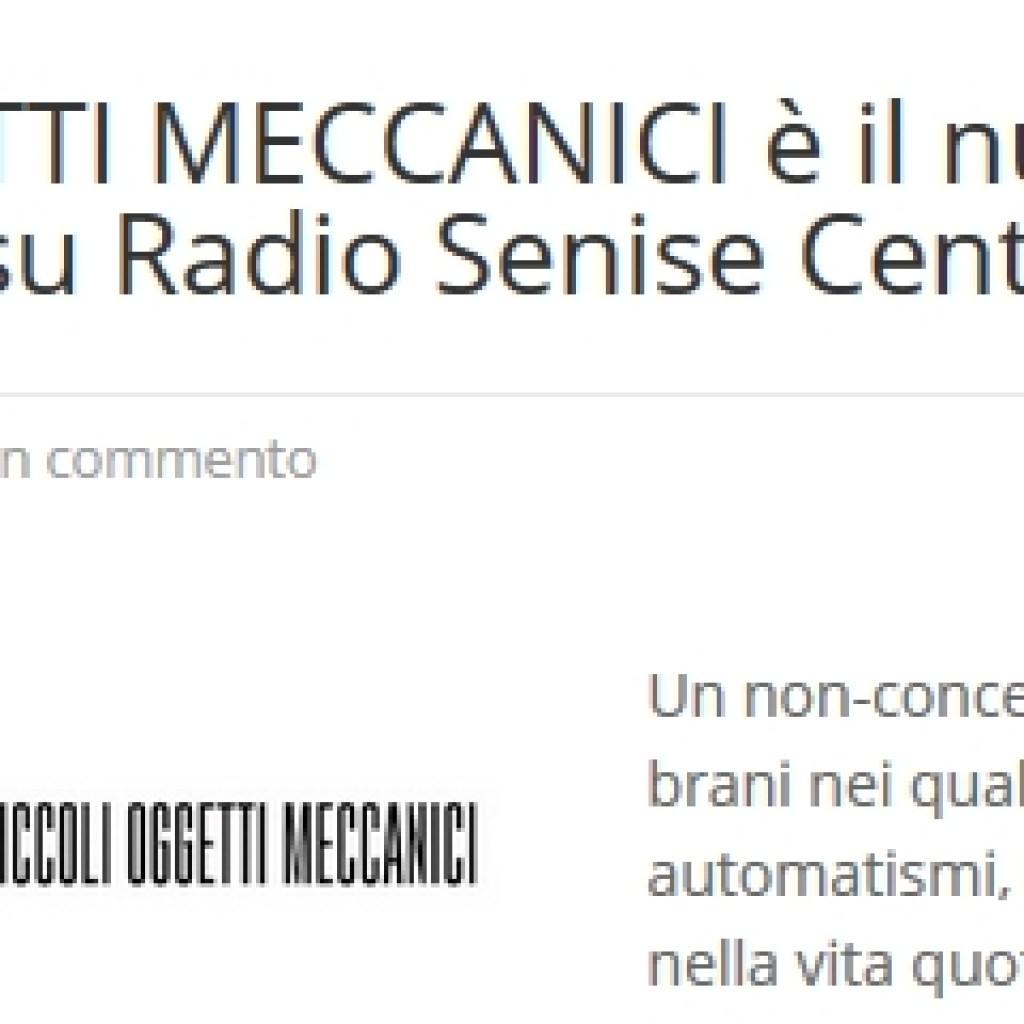 Radio Senise Centrale Belzer  Articolo