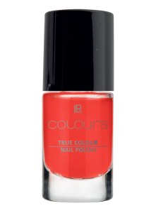 LR Colours Nail Polish 7 Happy Coral 10400-7