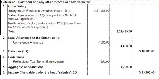 Salary, Net Salary, Gross Salary, Cost to Company What is the