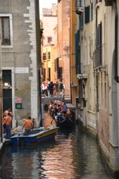 crowded canals!