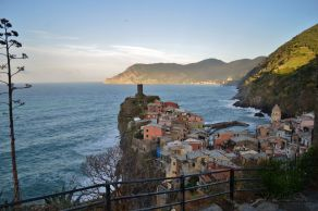 the view from Vernazza's castle