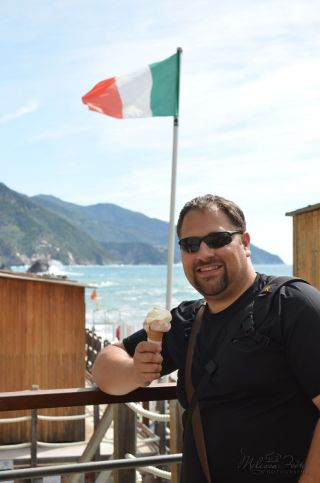cooling down with a gelato