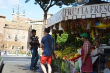 Lots of great fruit stands everywhere