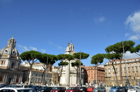 Trajan's Column is a Roman triumphal column in Rome, Italy, that commemorates Roman emperor Trajan's victory in the Dacian Wars. 113AD