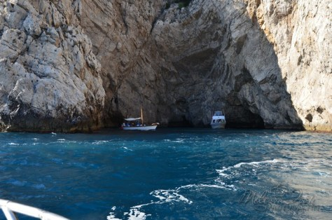 boats checking out more caves