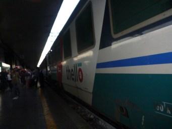 Thello overnight train ROME- PARIS