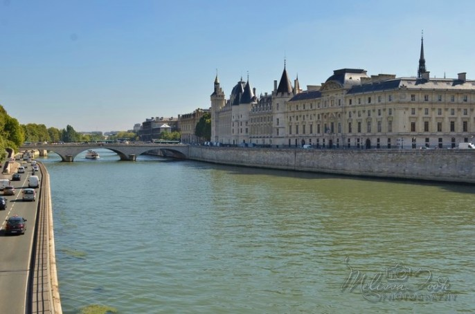 View from Pont Neuf towards Conciergerie and Pont au Change