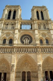 Notre-Dame and it's the three portals