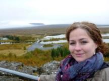 Þingvellir from the information centre overlook