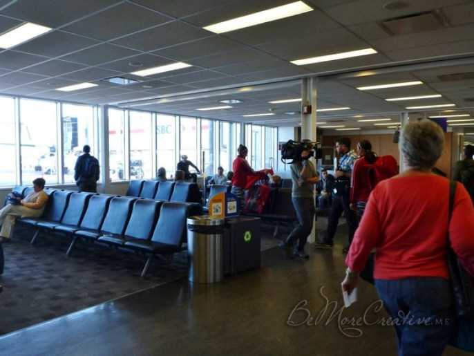 Amazing Race Canada in Montreal Airport