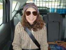 Picked up Melissa in Cochrane