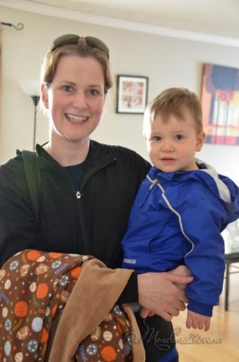 A visit to Jana's house in Regina