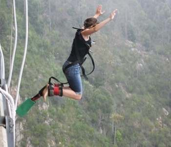 Taking a Long Walk Off a Short Bridge: The World's Tallest Bungee Jump