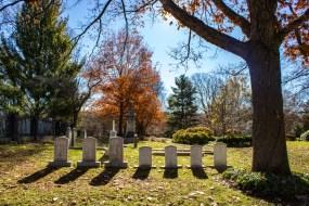 Mount Auburn Cemetery in Cambridge