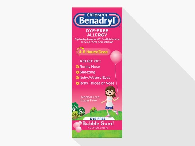 Allergy  Itch Relief Medicine for Adults  Children BENADRYL®