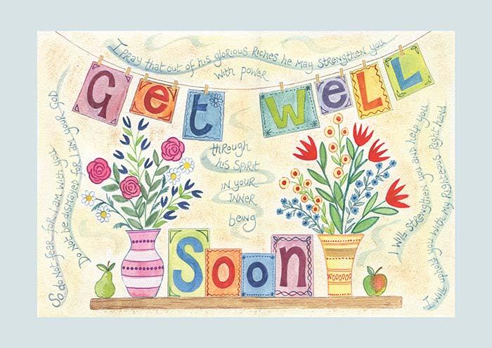Get Well Soon Card \u2013 ben and hannah dunnett - get well soon card