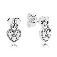 PANDORA Love Locks Dangle Earrings - 296575 | Ben Bridge ...