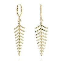 Roberto Coin Diamond Dangle Earrings 18K - 518239AYERX0 ...