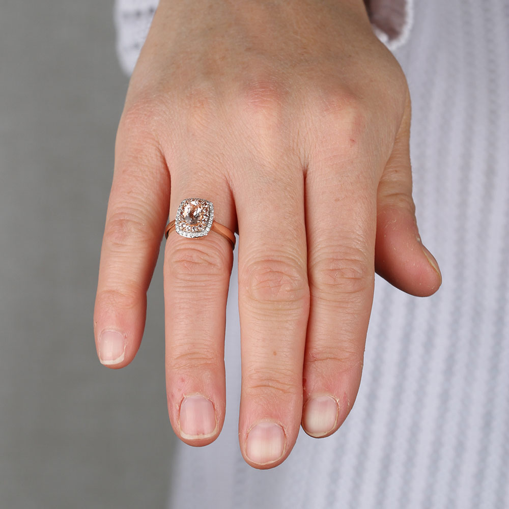 Fullsize Of Rose Gold Morganite Ring