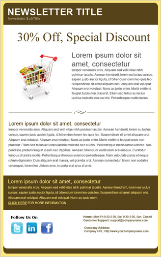 templates newsletter free