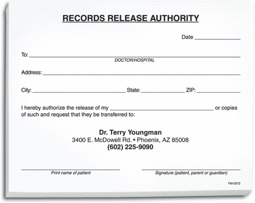 Records Release Form Benco