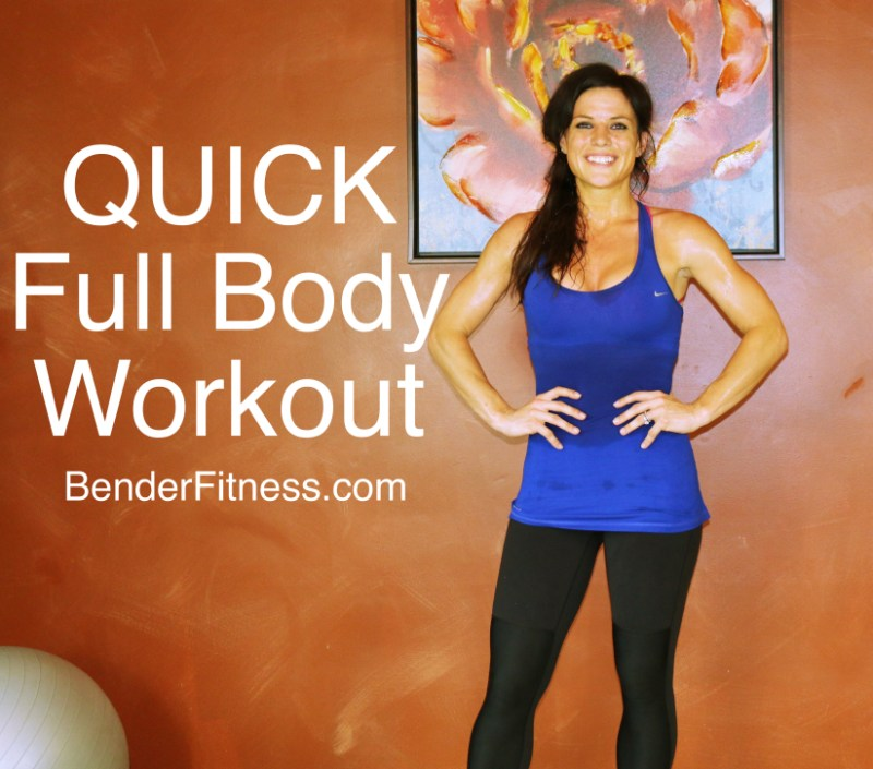 Quick Strategies In Strength Training Uncovered: Quick Full Body Home Workout For Sculpting, Shaping And