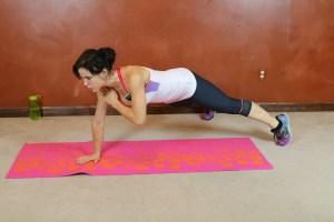 Wide Leg Shoulder Tap Pushup: Part 2
