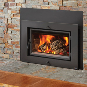 Fireplace Xtrordinair Large Flush Wood HybridFire ™ Insert – Arched
