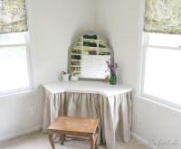 DIY Dressing Table - Beneath My Heart