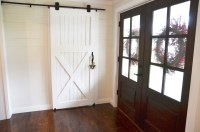 How to Hang a Barn Door! - Beneath My Heart