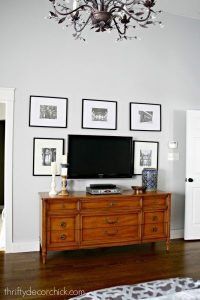 Hide That TV! Ideas for a DIY Accent Wall That Includes a ...
