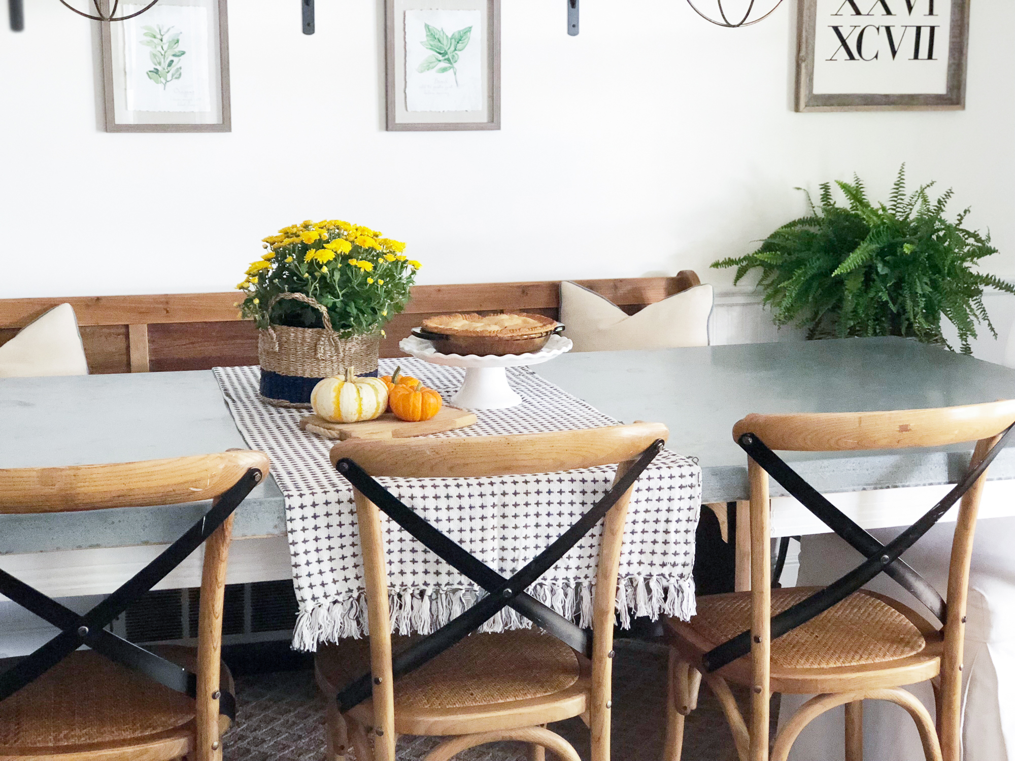 My Fall Kitchen Tour Beneath My Heart