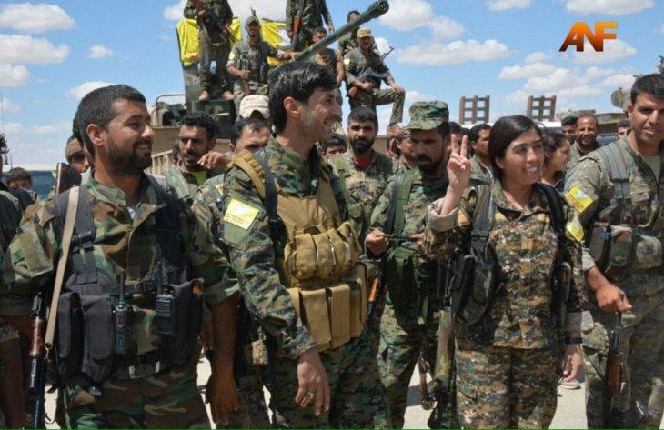 SDF commanders announced the Raqqa operation