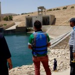Workers at the Mosul Dam, Iraq. May 2016. Read about it here https://warisboring.com/theres-no-rush-to-save-the-world-s-most-dangerous-dam-79fd26749fb7#.rnkw15nml