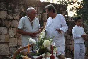 Rituale mit dem Ältestenrat der Maya
