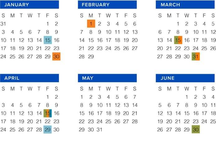 2016 Calendar of Events - The Benefit Practice