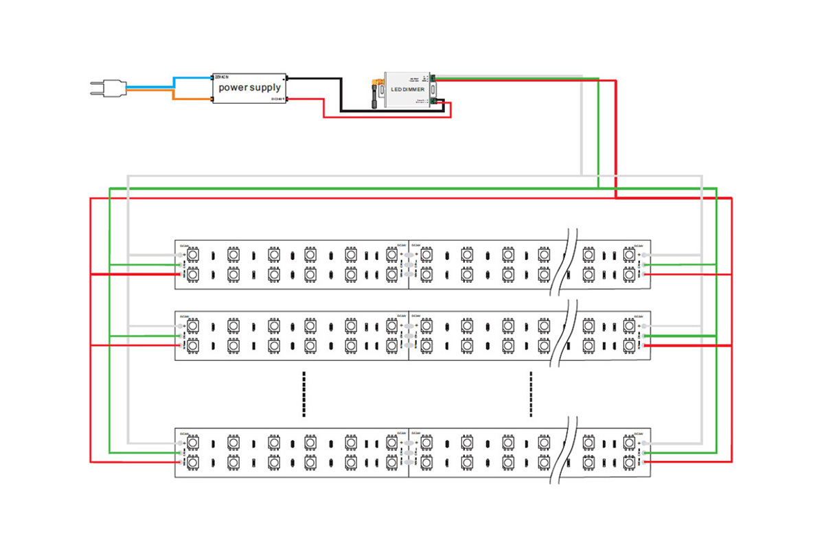 led wire diagram