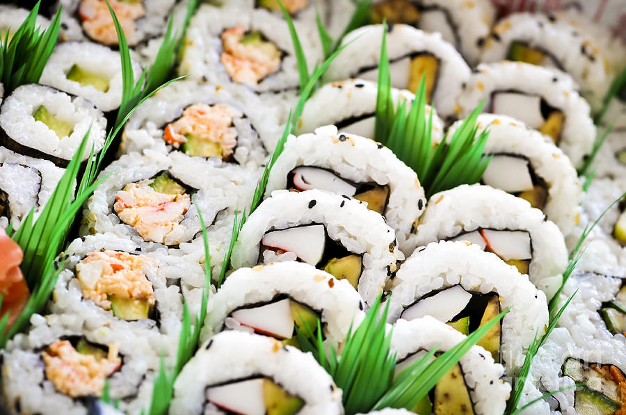 Hospital Sushi and the Five Stages of Grief