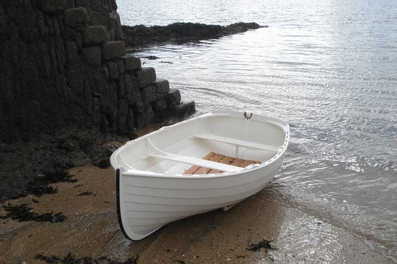 Auk tender row boat - Ben Harris - Wooden Boats
