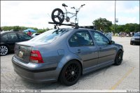 MKIV Jetta with roof rack