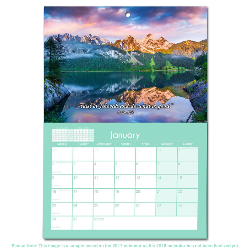 wall calendar 2018 - Onwebioinnovate