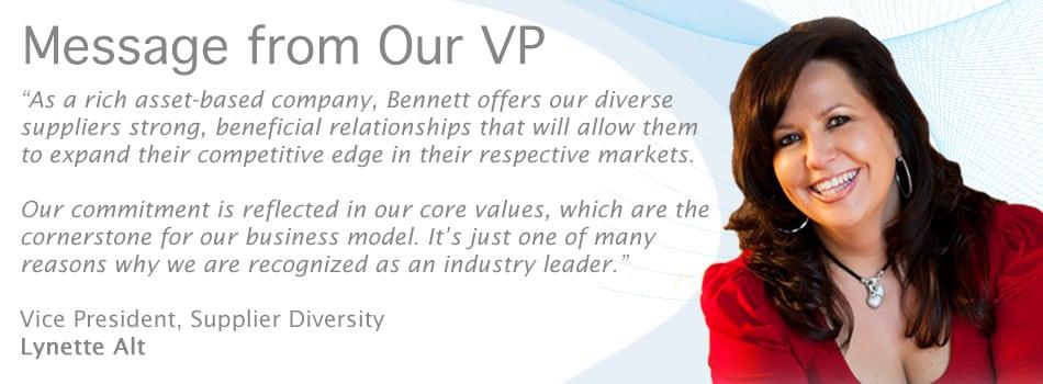 Statement of Diversity Bennett International Group, LLC - diversity statement