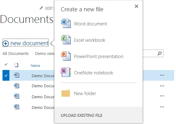 SharePoint 2013 new document library features \u2013 Ben Prins