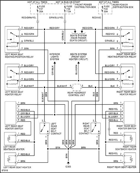 E32 FUSE DIAGRAM - Auto Electrical Wiring Diagram