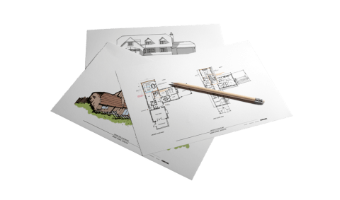 feasibility design sketches in preparation of submitting a detailed planning application